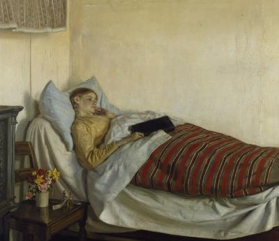 Michael Ancher - Syg ung pige