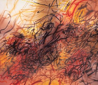 Julie Mehretu  First Seal (R 6:1)