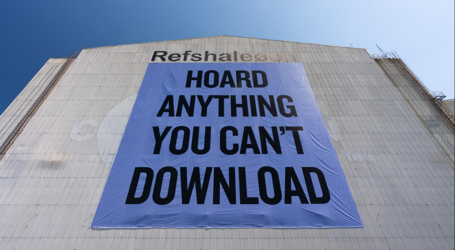 Douglas Coupland, Hoard Anything You Can't Download, 2013